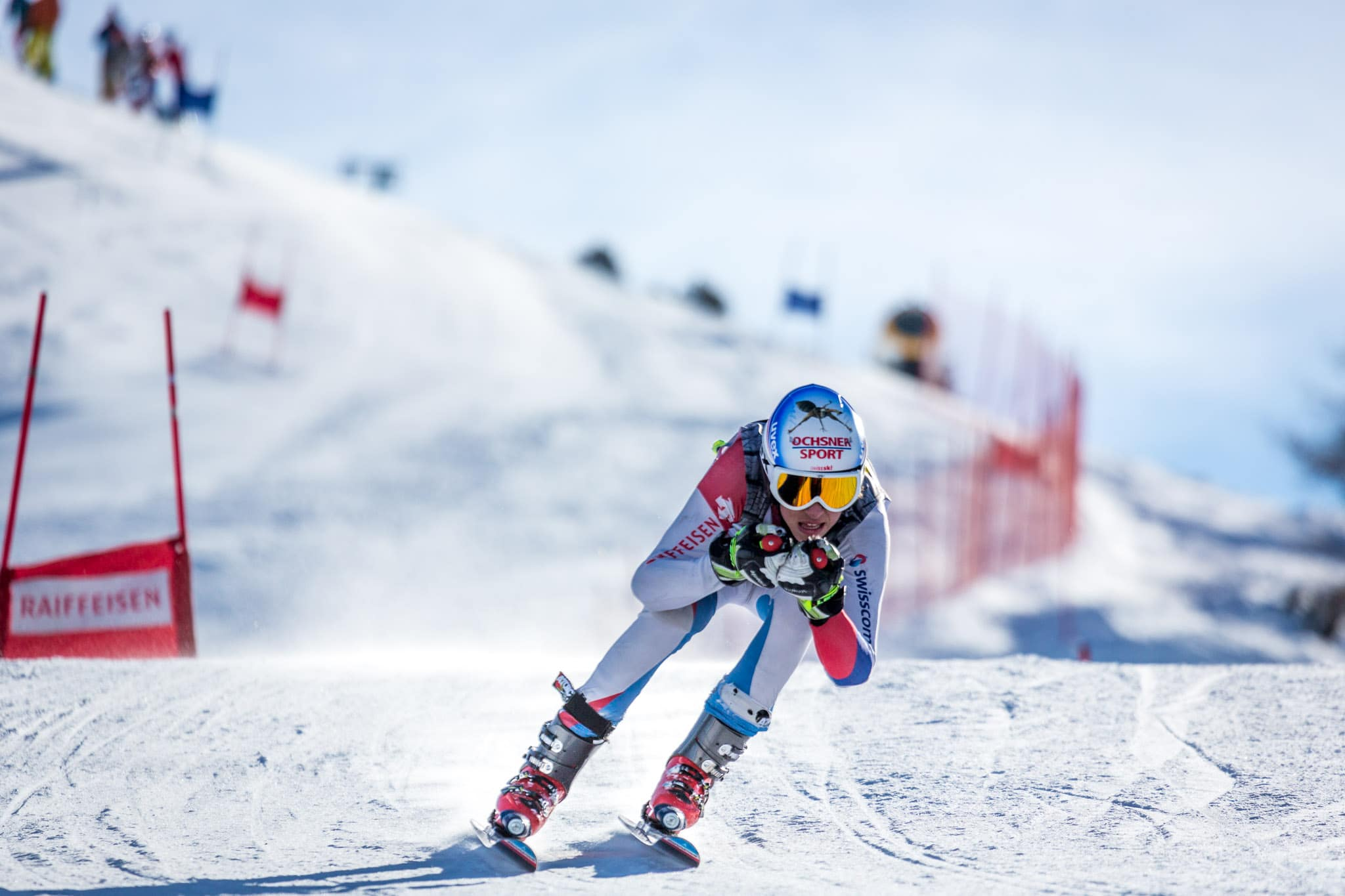 Course de ski Veysonnaz